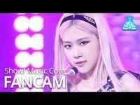-예능연구소- 블랙핑크 로제 직캠 'Lovesick Girls' (BLACKPINK ROSÉ FanCam) @Show!MusicCore 201017