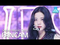 -예능연구소- 블랙핑크 지수 직캠 'Lovesick Girls' (BLACKPINK JISOO FanCam) @Show!MusicCore 201010