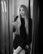 Rose SaintLaurent W Korea April 2020 Issue 2
