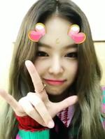 Jennie Inkigayo Snow Stay 4