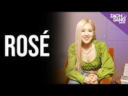 "Rosé Talks On The Ground, ""R"", Blackpink & Hank"