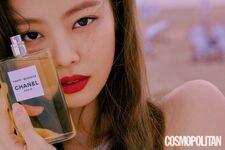 Jennie Cosmopolitan Korea magazine July 2018 issue