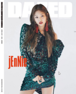 Jennie Dazed Korea April Issue