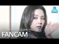 -예능연구소- 블랙핑크 지수 직캠 'How You Like That' (BLACKPINK JISOO FanCam) @Show!MusicCore 200704