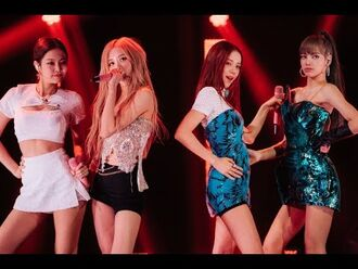 BLACKPINK Kill This Love - The Late Show with James Corden