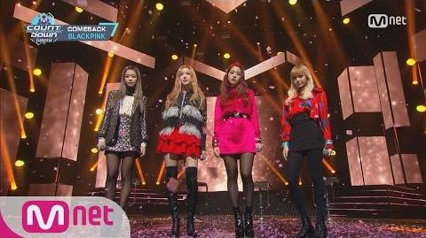 BLACKPINK - STAY Comeback Stage M COUNTDOWN 161110 EP