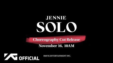 JENNIE - 'SOLO' CHOREOGRAPHY CUT TEASER