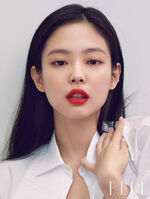 Jennie x Hera on Elle Korea September 2020 1
