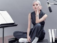 Rosé W Korea October 2020 9