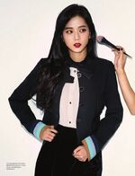 Jisoo Allure Korea Magazine February 2018