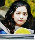 Jisoo leaving Inkigayo 170528 2