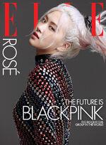 Rosé Elle Magazine October 2020