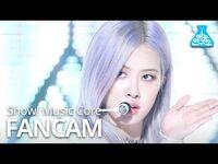 -예능연구소- 블랙핑크 로제 직캠 'How You Like That' (BLACKPINK ROSÉ FanCam) @Show!MusicCore 200704