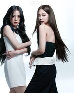 Jennie Jisoo Vogue Korea June 2021