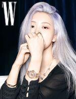 Rose W Korea Magazine August 2020 Issue 7