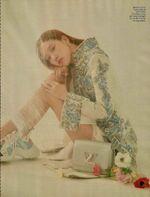 Rose Elle Korea Magazine April 2018 2