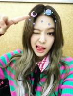 Jennie Inkigayo Snow Stay