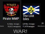 The Second War - Pirate vs TLI