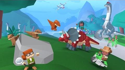 Blocksworld - Dinosaurs of Nakolia