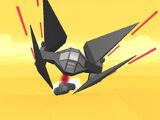 Escape Rockets/Star Wars Ship!!!