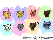 Emotes by firemoon