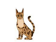 Cheetah-by-pine