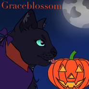 Gracey (Haloween) by Goldi the smol penguin overlord