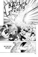 Father Wolf destroying part of the castle while fighting Akim