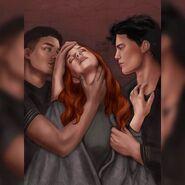 Kieran, Poppy and Casteel by Jessamybooks