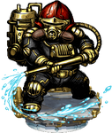 Dwarven Firefighter