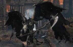 Full in game view of Lesser demon V