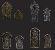 Gravestone Chalice Dungeon Bloodborne