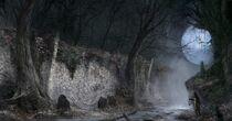 Forbidden Woods concept art 4