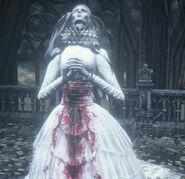 Yharnam, Pthumerian Queen Nightmare of Mensis 2