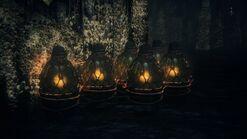 Explosive Oil Urns (Fishing Hamlet)