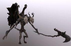Lesser demon V, full model