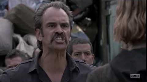 The Walking Dead 8x10- Simon's BULLSHIT Moment