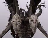 Lesser demon V, with both of its heads