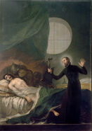 St. Francis Borgia Helping a Dying Impenitent by Goya