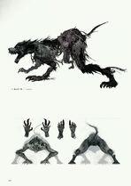 Scourge Beast concept art
