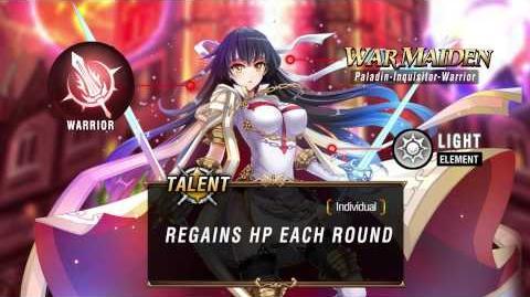 Bloodline SEA Hero Introduction War Maiden