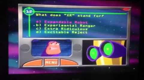 Buzz Lightyear of Star Command Star Command Trivia Game