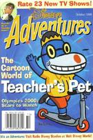 Cover of Disney Adventures (October 2000)