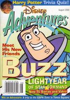 Cover of Disney Adventures (August 2000)