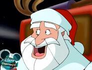 Santa Claus in gear
