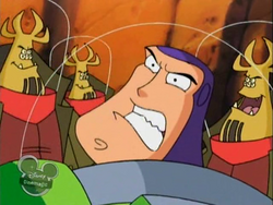 Buzz surrounded by Torque's clones.png