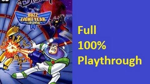 Buzz Lightyear of Star Command Video Game (PC) Full 100% Playthrough