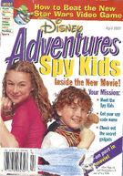 Cover of Disney Adventures (April 2001)