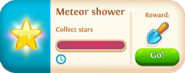 Meteor shower event tab