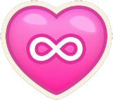 Heart unlimited icon new